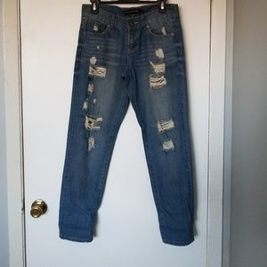 NWOT twenty one black boyfriend denim